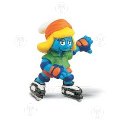 Skater Smurfette