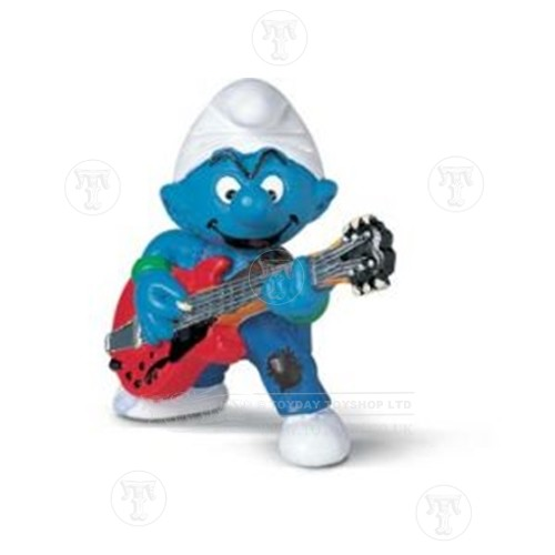 Lead Guitar Player Smurf