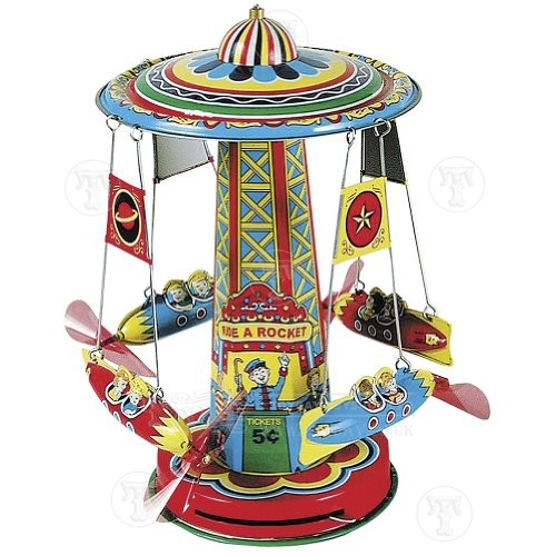 http://www.toyday.co.uk/shop/traditional-toys/tin-toys/rocket-ride-carousel/prod_6294.html