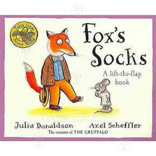 Foxs Socks Tale from Acorn Wood