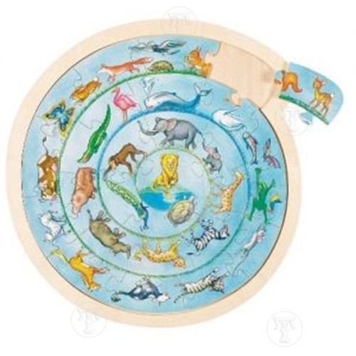 Animal Circle Jigsaw Puzzle