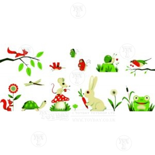 Djeco Meadow Wall Stickers