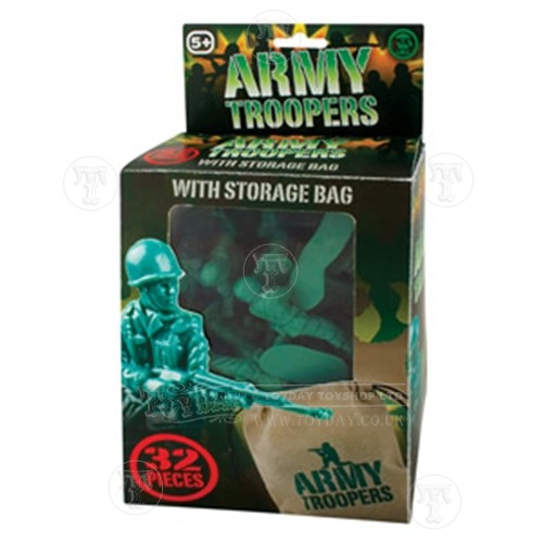 Army Troopers in a storage bag