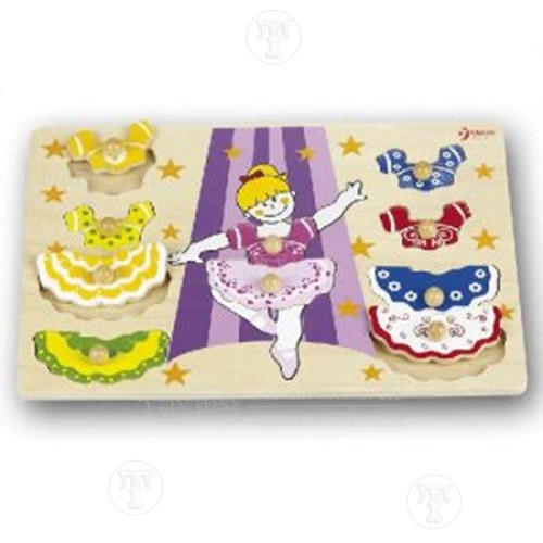 Dress up Ballerina Puzzle