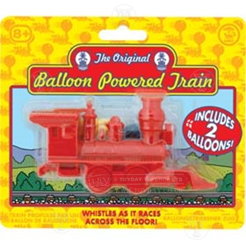 Balloon Powered Train