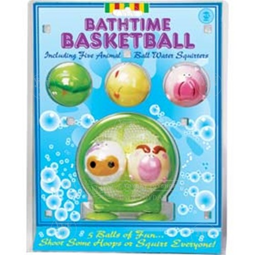 Bathtime Basket Ball