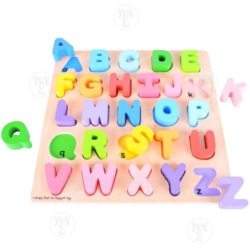 Chunky Wooden Alphabet Puzzle