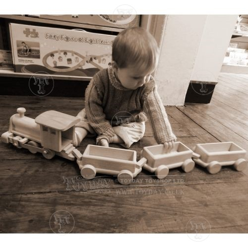 Big Wooden Train