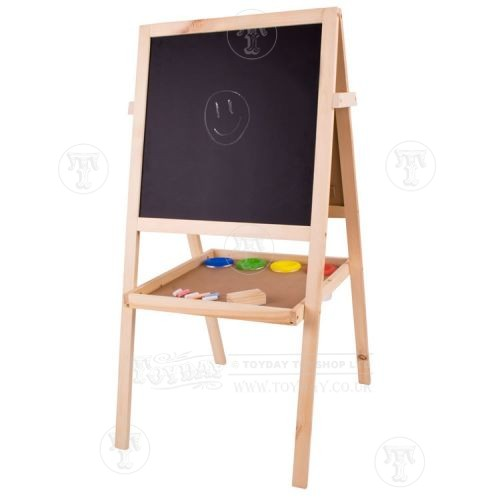 Childs Chalkboard Easel and White Board