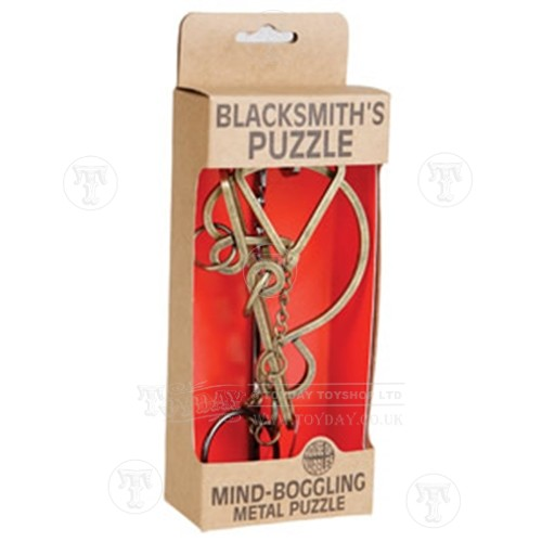 Brainbuster Blacksmiths Metal Puzzle