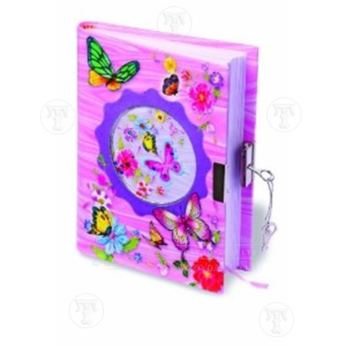 Butterfly Lockable diary