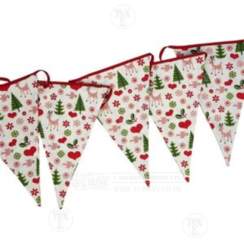 50's Style Christmas Bunting