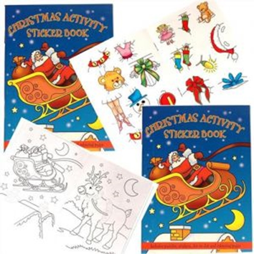 A Christmas Activity Sticker Book