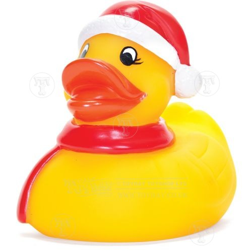 Christmas Rubber Bath Duck
