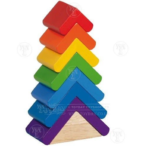 Colourful Stacking Tower