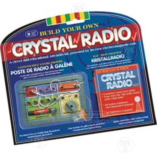 Crystal Powered Radio