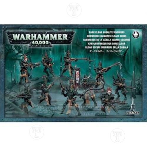 Warhammer 4044000 Dark Eldar Kabalite Warriors