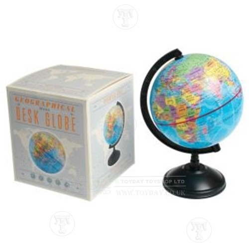 Traditional School Desk Top Globe