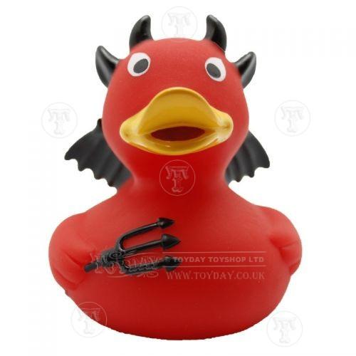 devil trident rubber duck