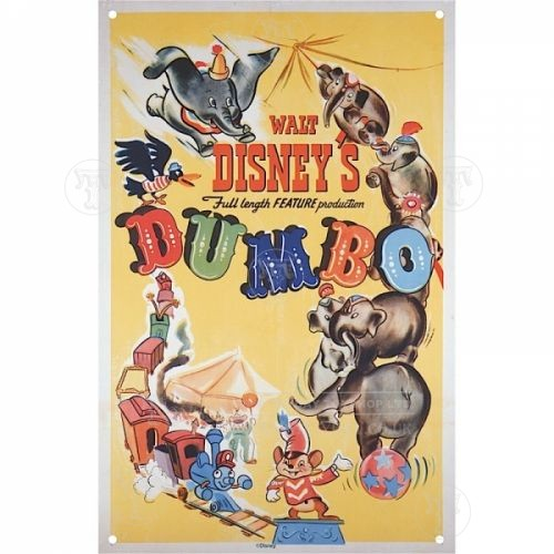 Dumbo A3 Tin Sign
