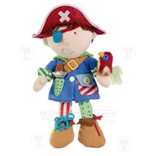 Dress Up Pirate Doll