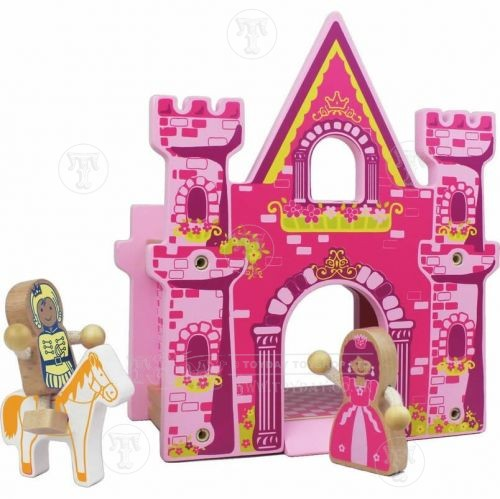 Wooden Princess Castle Play Set