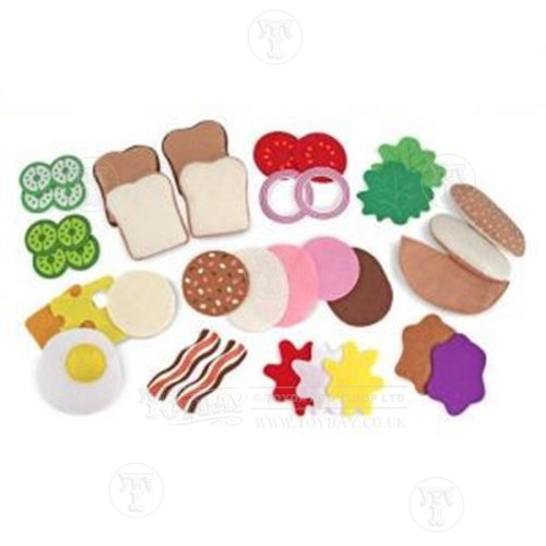 Felt Food Sandwich Making Set