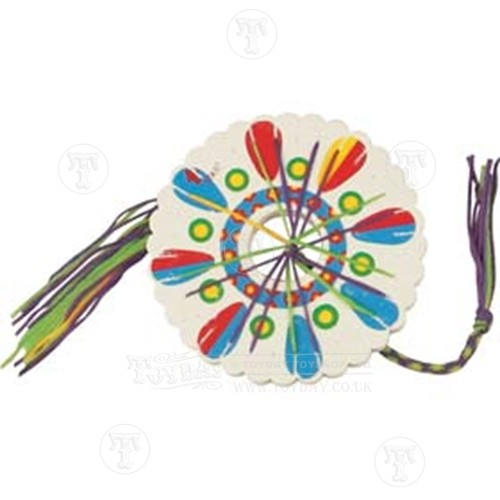 Friendship bracelet wheel