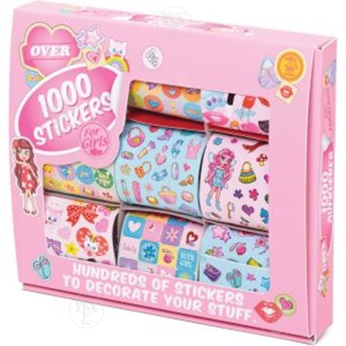 1000 Girls Sticker Set
