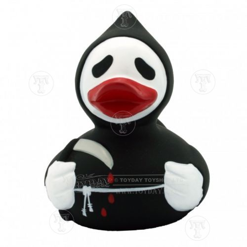 grim reaper halloween bath duck