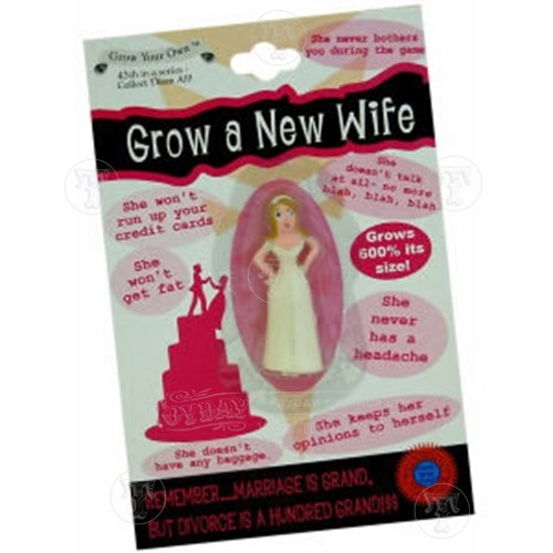Grow Your Own Wife