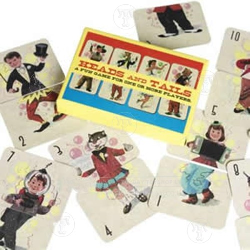 Vintage Style Heads and Tails Game