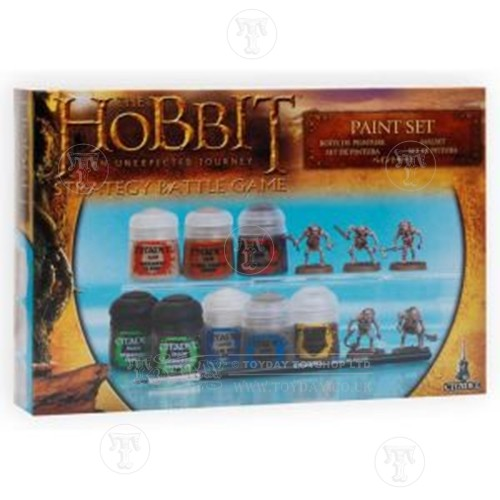 Toyday Traditional & Classic Toys  Hobbit Paint Set