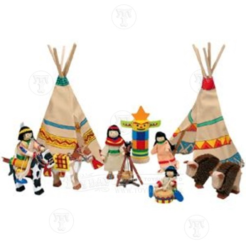 Wooden Indians Camp
