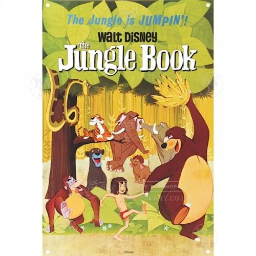 Jungle Book A3 Tin Sign