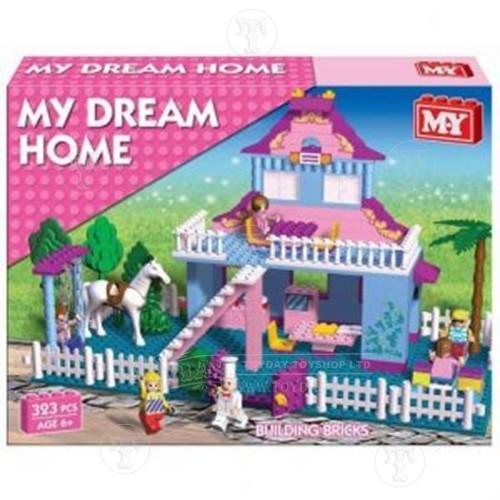 Dream House Building Bricks