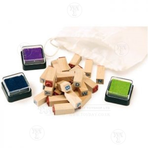 Creative Toys Set of Letter Stamps