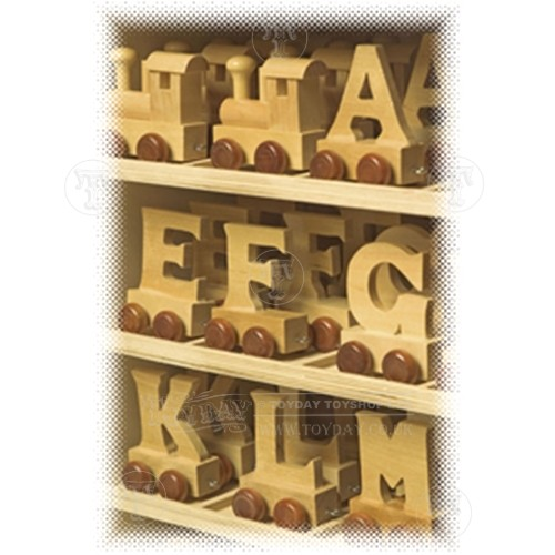 Wooden Letter Train