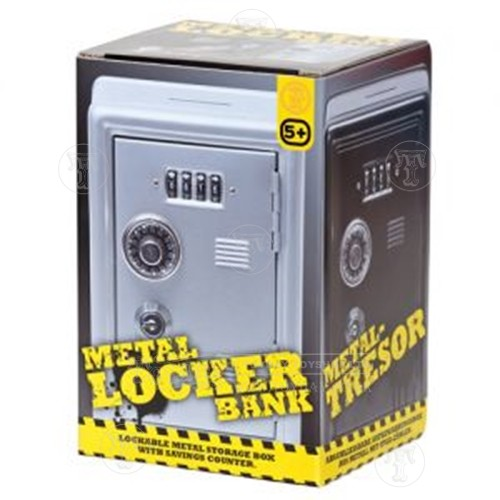 Metal Locker Bank