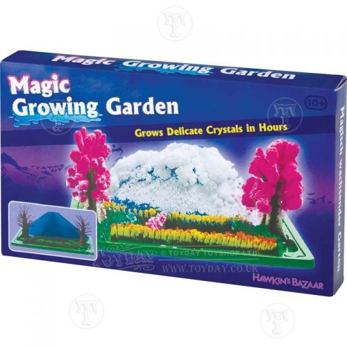 crystal growing garden kit