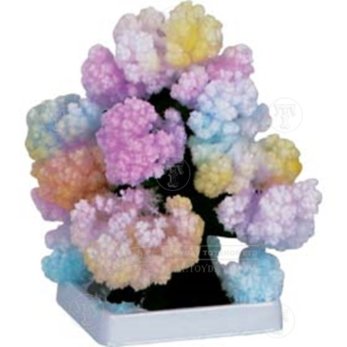 Crystal growing tree outdoors educational toys