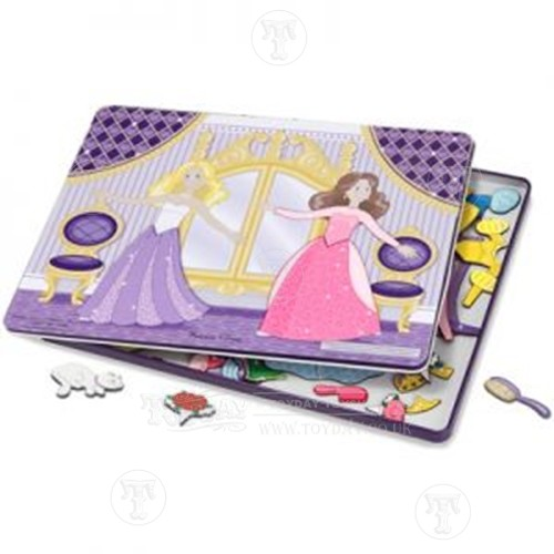 Magnetic Dress Up Set in a Tin