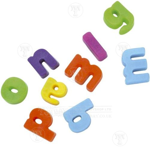 40 Fridge Magnetic Letters