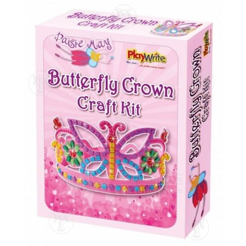 Make Your Own Butterfly Crown