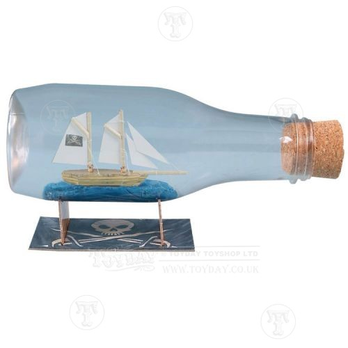 Make a Pirate Ship in a Bottle