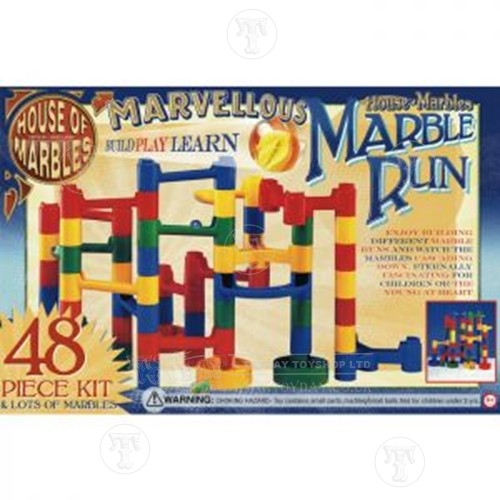 48 Piece Marble Run