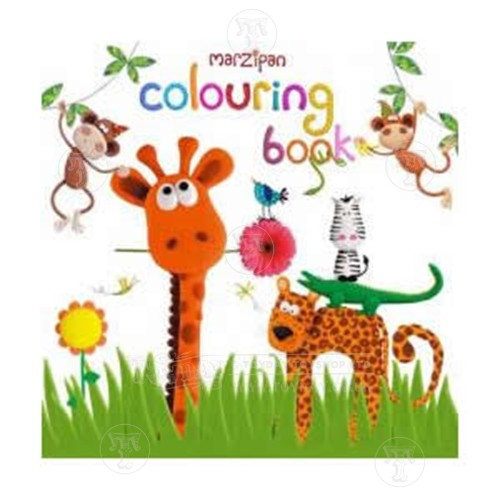 Marzipan Jungle Sticker Book