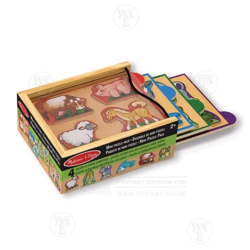 Set of 4 Lift Out Puzzles