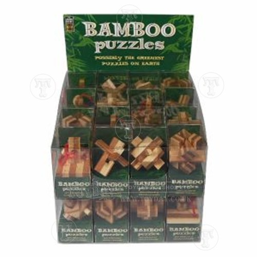 Toyday Traditional & Classic Toys  Bamboo Wooden Puzzle