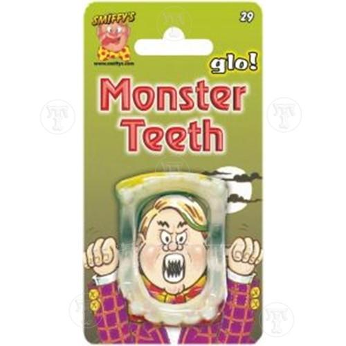 Glow in the Dark Monster Teeth